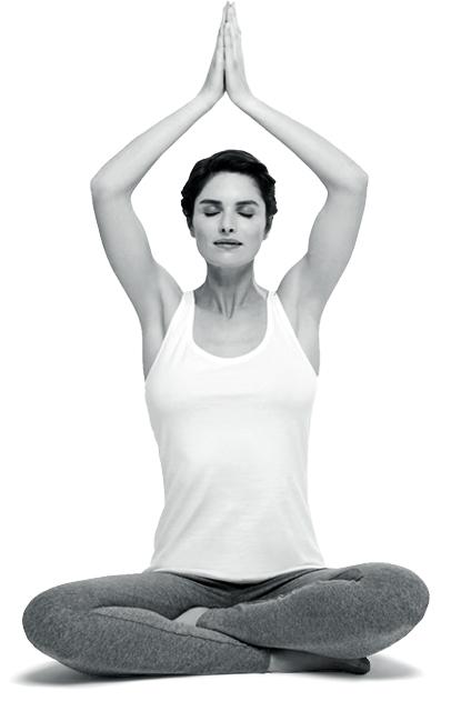 woman, lotus, meditation