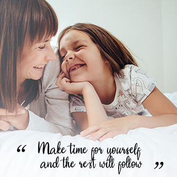 Make time for yourself and the rest will follow