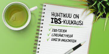 Huhtikuu on IBS-kuukausi - Symbiosys Alflorex